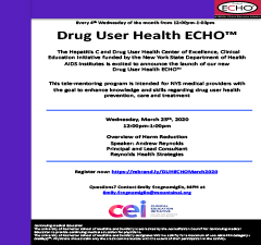 CEI DUH ECHO: Overview of Harm Reduction