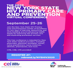 2020 New York State HIV Primary Care and Prevention Annual Conference