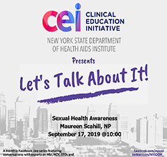 Facebook Live! Let's Talk About It: Sexual Health Awareness
