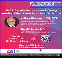 PrEP for Adolescents and Young Adults: What Providers Need to Know