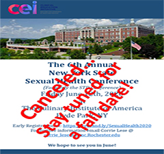 POSTPONED The 6th Annual New York State Sexual Health Conference  (Formerly the STD Conference)