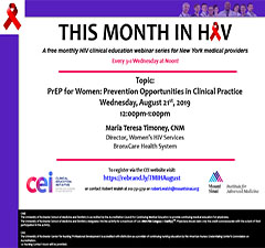 This Month in HIV: PrEP for Women: Prevention Opportunities in Clinical Practice
