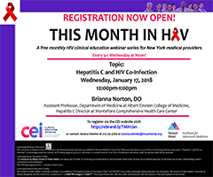 January This Month in HIV: Hepatitis C and HIV Co-infection