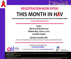 June This Month in HIV: HIV & Oral Health Care