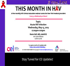 This Month in HIV: Acute HIV Infection