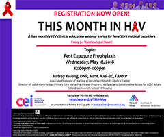 May This Month in HIV: Post Exposure Prophylaxis