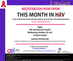 October This Month in HIV: HIV and Women's Health