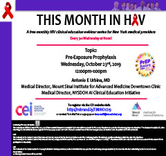 This Month in HIV: Pre-Exposure Prophylaxis