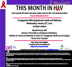 This Month in HIV: Transgender-Affirming Mental Health and Wellness