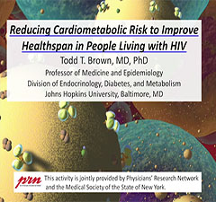 Reducing Cardiometabolic Risk to Improve Healthspan in People Living with HIV
