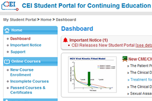CEI Student Portal and Mailing List