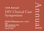 13th Annual HIV Clinical Symposium