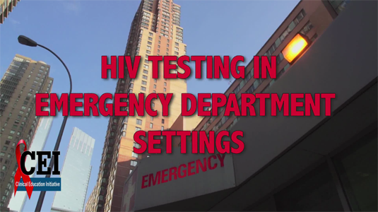 HIV Testing in Emergency Department Settings