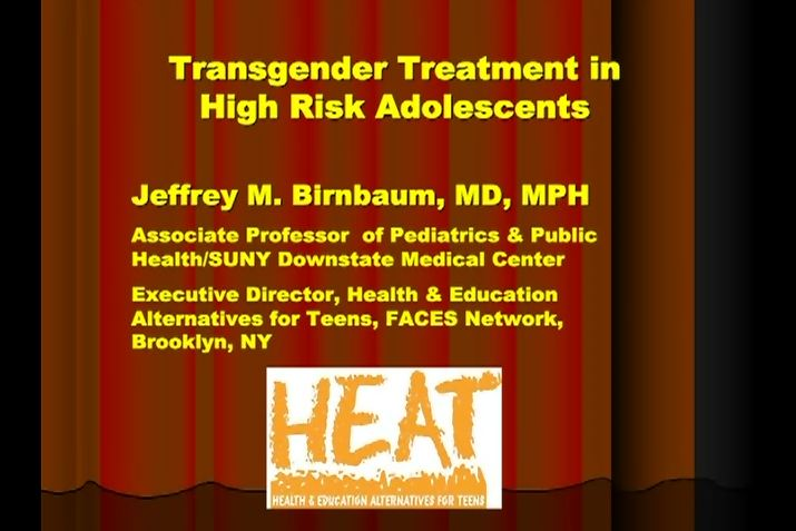 Transgender Treatment in High Risk Adolescents