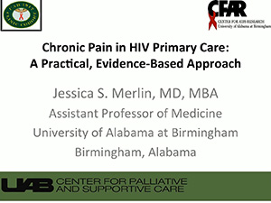 ACTHIV 2017 - Chronic Pain in HIV Primary Care: A Practical, Evidence-Based Approach