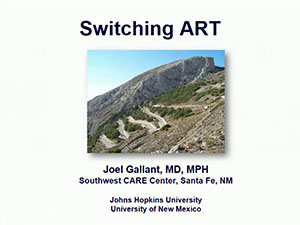 ACTHIV 2016 Conference - Switching ART