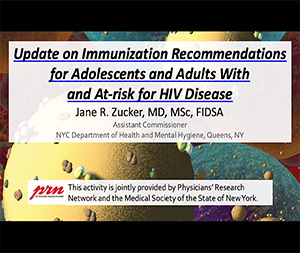 Update on Immunization Recommendations for Adolescents and Adults With and At-risk for HIV Disease